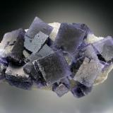 Fluorite, Quartz<br />La Viesca Mine, <i>Tres de la Collada</i> pocket, La Collada mining area, Huergo, Siero, Comarca Oviedo, Asturias, Principality of Asturias, Spain<br />12x7x5 cm overall size<br /> (Author: Jesse Fisher)