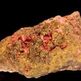 Rhodochrosite<br />Wolf Mine, Herdorf, Siegerland, Rhineland-Palatinate/Rheinland-Pfalz, Germany<br />7 cm<br /> (Author: Gerhard Brandstetter)