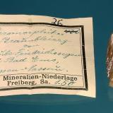 Pyromorphite<br />Friedrichssegen Mine, Frücht, Bad Ems District, Lahn Valley, Rhineland-Palatinate/Rheinland-Pfalz, Germany<br />22 mm<br /> (Author: Gerhard Brandstetter)