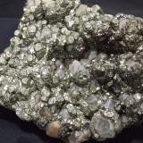 Pyrite and Marcasite<br />Wheal Nangiles, Twelveheads, Baldhu, Camborne - Redruth - Saint Day District, Cornwall, England / United Kingdom<br />10cm x 8cm<br /> (Author: markbeckett)