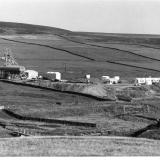 A photo of the Redburn Mine site, taken sometime around the mid 1970s. (Author: Jesse Fisher)