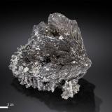 Löllingite<br />Huanggang Mines, Hexigten Banner (Kèshíkèténg Qí), Ulanhad (Chifeng), Inner Mongolia Autonomous Region, China<br />67 x 62 mm<br /> (Author: Manuel Mesa)