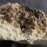 Cerussite<br />Barrow Mine, Braithwaite District, North Pennines Orefield, former Cumberland, Cumbria, England, United Kingdom<br />8cm<br /> (Author: colin robinson)