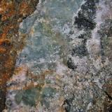 Fluorite<br />South Crofty Mine, Northern Branch lode, Pool, Camborne - Redruth - Saint Day District, Cornwall, England / United Kingdom<br />fov 20cm<br /> (Author: markbeckett)