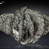 Arsenopyrite on Löllingite<br />Huanggang Mines, Hexigten Banner (Kèshíkèténg Qí), Ulanhad (Chifeng), Inner Mongolia Autonomous Region, China<br />145 x 96 mm<br /> (Author: Manuel Mesa)