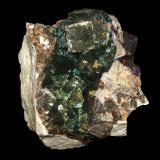 Fluorite<br />Charles Pfizer & Company Inc. Quarry, Gibsonburg, Sandusky County, Ohio, USA<br />15 cm x 12.4 cm x 9.3 cm<br /> (Author: Jamison Brizendine)