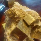 Pyrite<br />Ampliación a Victoria Mine, Navajún, Comarca Cervera, La Rioja, Spain<br />13 cm x 12 cm x 11 cm<br /> (Author: franjungle)