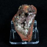 Adamite (variety manganoan adamite)<br />Ojuela Mine, Mapimí, Municipio Mapimí, Durango, Mexico<br />68 mm x 63 mm x 43 mm<br /> (Author: Don Lum)