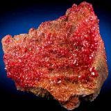 VanadiniteMina Pure Potential, Distrito Silver, Montes Trigo, Condado La Paz, Arizona, USA10.5 cm x 9 cm (Author: Nunzio)
