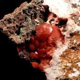 Analcime<br />Mount Kahovan, Moalleman, Qohab-e Rastaq, Amirabad District, Damghan, Torud Region, Semnan Province, Iran<br />55 mm x 51 mm x 22 mm<br /> (Author: Don Lum)