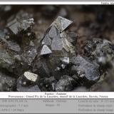 Anatase<br />Grand Pic de la Lauzière, La Lauzière Massif, Saint-Jean-de-Maurienne, Savoie, Auvergne-Rhône-Alpes, France<br />fov 7.5 mm<br /> (Author: ploum)