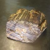 limonite after Pyrite<br />Santander Department, Colombia<br />36 mm x 25 mm x 33 mm<br /> (Author: franjungle)