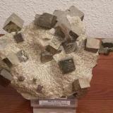 Pyrite<br />Ampliación a Victoria Mine, Navajún, Comarca Cervera, La Rioja, Spain<br />16 cm x 12 cm x 9 cm<br /> (Author: franjungle)