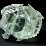 Beryl (variety aquamarine)<br />Minas Gerais, Brazil<br />51 mm x 46 mm x 32 mm<br /> (Author: Don Lum)