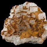 Cryolite with SideriteDepósito Ivigtut, Ivittuut, Fiordo Arsuk, Sermersooq, Groenlandia10.0x 7.0 x 8.0 cm (Author: MIM Museum)