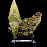 Calcite and Pyrite<br />Viburnum No. 28 Mine, Courtois, Viburnum Trend District, Washington County, Missouri, USA<br />7.4 cm x 7.5 cm x 3 cm<br /> (Author: Turbo)