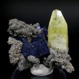 Calcite<br />Sweetwater Mine, Ellington, Viburnum Trend District, Reynolds County, Missouri, USA<br />7 cm x 6 cm x 6 cm<br /> (Author: Turbo)