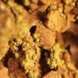 limonite after Pyrite<br />El Almendral Quarry, Road to Berja, Berja, Comarca Poniente Almeriense, Almería, Andalusia, Spain<br />FOV 9 mm<br /> (Author: franjungle)