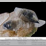 Anatase<br />Vallon de la Valette, La Lauzière Massif, Saint-Jean-de-Maurienne, Savoie, Auvergne-Rhône-Alpes, France<br />fov 9 mm<br /> (Author: ploum)