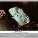 Adamite<br />Hilarion Mine, Hilarion area, Kamariza Mines, Agios Konstantinos, Lavrion Mining District, Attikí (Attica) Prefecture, Greece<br />for 1.1 mm<br /> (Author: ploum)