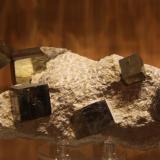 Pyrite<br />Ampliación a Victoria Mine, Navajún, Comarca Cervera, La Rioja, Spain<br />132mm x 64mm x 77mm<br /> (Author: franjungle)
