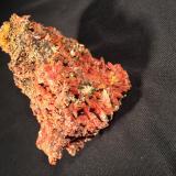 Crocoite<br />Adelaide Mine, Dundas, Zeehan District, West Coast Council, Tasmania, Australia<br />80 mm x 58 mm x 53 mm<br /> (Author: Robert Seitz)