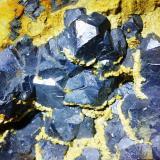 Cristales de galena de hasta 2 cm de arista (Autor: mmarte)
