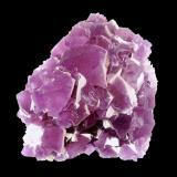 Fluorite<br />Navidad Mine, Abasolo, Rodeo, Municipio de Rodeo, Durango, Mexico<br />Specimen size 10 cm, largest fluorite crystal 2,5 cm<br /> (Author: Tobi)