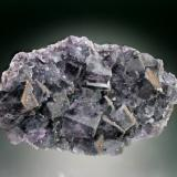 Fluorite<br />Burtree Slits, Cowshill, Weardale, North Pennines Orefield, County Durham, England, United Kingdom<br />12x9x4 cm overall size<br /> (Author: Jesse Fisher)
