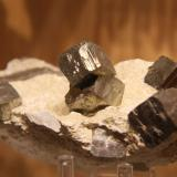 Pyrite<br />Ampliación a Victoria Mine, Navajún, Comarca Cervera, La Rioja, Spain<br />114mm x 55mm x 73mm<br /> (Author: franjungle)