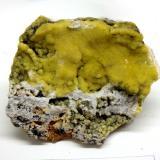 Smithsonita<br />Mines del Mas d'en Galofre, L'Albiol, Comarca Baix Camp, Tarragona, Catalunya, España<br />4x3cm<br /> (Autor: Eloi)