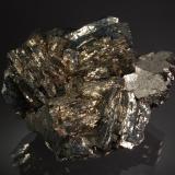 Arsenopyrite<br />Stan Terg Mine, Trep&#269;a Complex, Trep&#269;a Valley, Kosovska Mitrovica, Kosovska Mitrovica District, Kosovo<br />3.2 x 5.9 x 7.1 cm<br /> (Author: crosstimber)