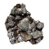 Galena<br />Trzebionka Mine, Trzebinia, Chrzanów District , Małopolskie, Poland<br />Specimen size 9,5 cm, largest galena crystal 3 cm<br /> (Author: Tobi)