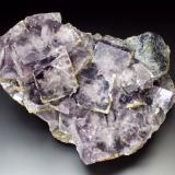 Fluorite, Siderite, Galena<br />Allenheads Mine, Allendale, Northumberland, England, United Kingdom<br />11x8x7 cm overall size<br /> (Author: Jesse Fisher)
