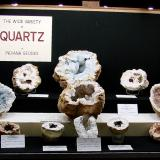 Quartz<br />Indiana, USA<br />All range from small cabinet size to large cabinet size<br /> (Author: Bob Harman)