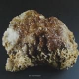 Fluorita y Barita.<br />Mina Atrevida, Vimbodí i Poblet, Comarca Conca de Barberà, Tarragona, Catalunya, España<br />65x50 mm<br /> (Autor: Jesus Franquesa Baucells)