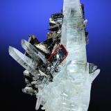 Tetrahedrite, Hübnerite, Quartz<br />Mundo Nuevo mining area, Mundo Nuevo, Huamachuco, Sánchez Carrión Province, La Libertad Department, Peru<br />92 mm x 61 mm<br /> (Author: Carles Millan)