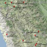 _Tetrahedrite, Hübnerite, QuartzZona minera Mundo Nuevo, Mundo Nuevo, Huamachuco, Provincia Sánchez Carrión, Departamento La Libertad, Perú92 mm x 61 mm (Author: Carles Millan)