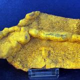 óxidos de hierro (ocre amarillo)<br />Mina San Francisco, El Albir, Alfaz del Pi/l'Alfàs del Pi, Comarca Marina Baja, Alacant / Alicante, Comunitat Valenciana, España<br />15 x 9 cm<br /> (Autor: Pedro Antonio)