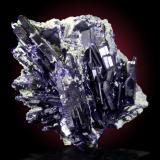 Azurita<br />Mina Tsumeb, segunda zona de oxidación, Tsumeb, Región Otjikoto, Namibia<br />10x10cm, cristales hasta 5cm<br /> (Autor: Raul Vancouver)