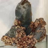 Baryte<br />Mowbray Mine, Frizington, West Cumberland Iron Field, former Cumberland, Cumbria, England, United Kingdom<br />15 x 12 x 12 cm<br /> (Author: James)