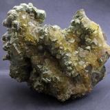 Fluorite, Pyrite/Marcasite<br />Santo Firme Group of Mines (Villabona Mines), Villabona, Llanera, Comarca del Nora, Asturias, Principality of Asturias, Spain<br />15 x 14 x 8 cm<br /> (Author: James)