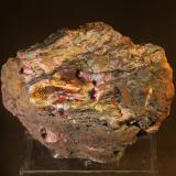 Goethite<br />Filón Sur open pit, Minas de Tharsis, Tharsis, Alosno, Comarca El Andévalo, Huelva, Andalusia, Spain<br />78mm x 50mm x 48mm<br /> (Author: franjungle)