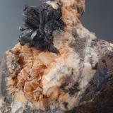 AzuriteCantera Schmitt, Altenmittlau, Freigericht, Distrito Main-Kinzig-Kreis, Spessart, Hesse/Hessen, Alemania2 cm crystal aggregate (Author: Andreas Gerstenberg)