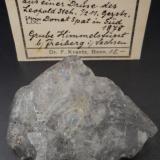 Fluorapophyllite-(K)Mina Himmelsfürst, Brand-Erbisdorf, Distrito Freiberg, Erzgebirgskreis, Sajonia/Sachsen, Alemania4,5 cm crystal floater (Author: Andreas Gerstenberg)