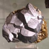 Galena, Siderite<br />Neudorf, Harzgerode mining district, Harz, Saxony-Anhalt/Sachsen-Anhalt, Germany<br />Approx. 10 cm<br /> (Author: Tobi)