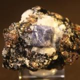 Corundum (variety sapphire)<br />Zazafotsy Quarry, Zazafotsy Commune, Fianarantsoa, Ihosy District, Horombe Region, Fianarantsoa Province, Madagascar<br />46mm x 37mm x 40mm<br /> (Author: franjungle)