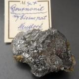 Bournonite<br />Neudorf, Harzgerode mining district, Harz, Saxony-Anhalt/Sachsen-Anhalt, Germany<br />4,2 x 2,6 cm<br /> (Author: Andreas Gerstenberg)