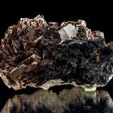 Baryte, Fluorite<br />Clara Mine, Rankach Valley, Oberwolfach, Wolfach, Black Forest, Baden-Württemberg, Germany<br />11,3 x 6,6 x 5,8 cm<br /> (Author: Niels Brouwer)