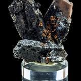 Baryte, Goethite<br />Clara Mine, Rankach Valley, Oberwolfach, Wolfach, Black Forest, Baden-Württemberg, Germany<br />4 x 2 x 1 cm<br /> (Author: Niels Brouwer)